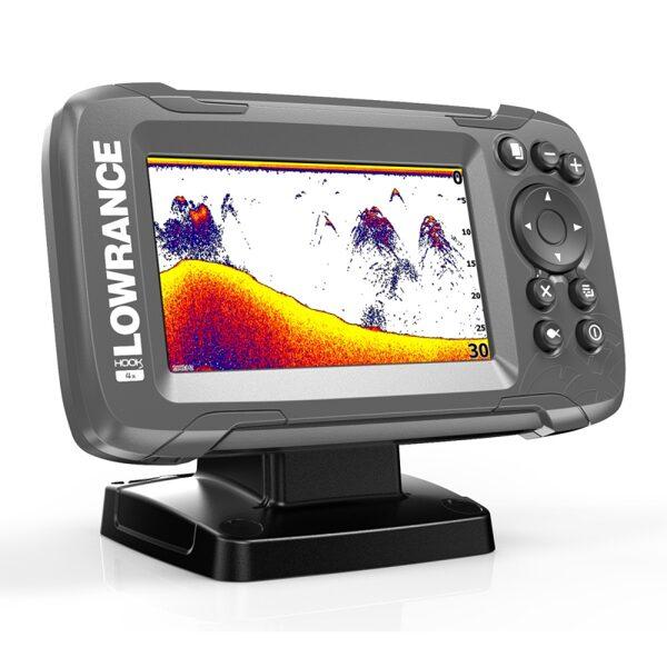 Eholote Lowrance HOOK2-4x GPS Bullet Skimmer CE ROW - veikalā uz vietas