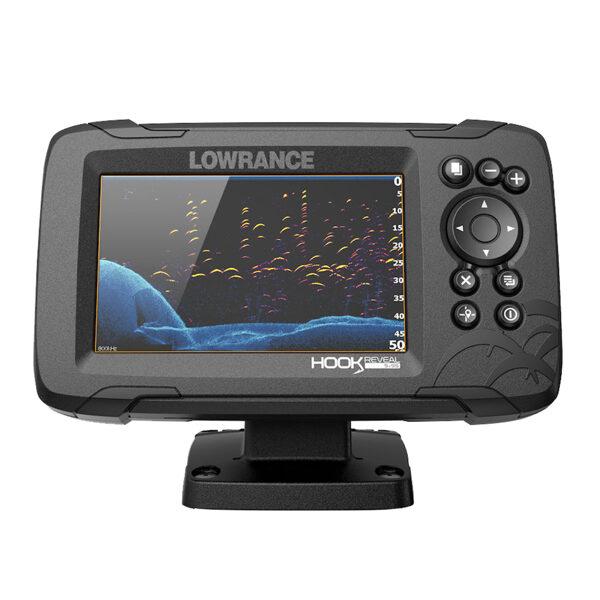 Eholote Lowrance HOOK REVEAL 5 83/200 HDI ROW - veikalā uz vietas