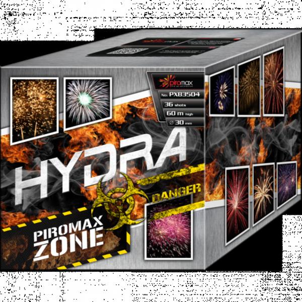 """Stobru bloks, baterija, salūts """"Hydra"""", PXB3504 - 36 šāvieni 30mm"""