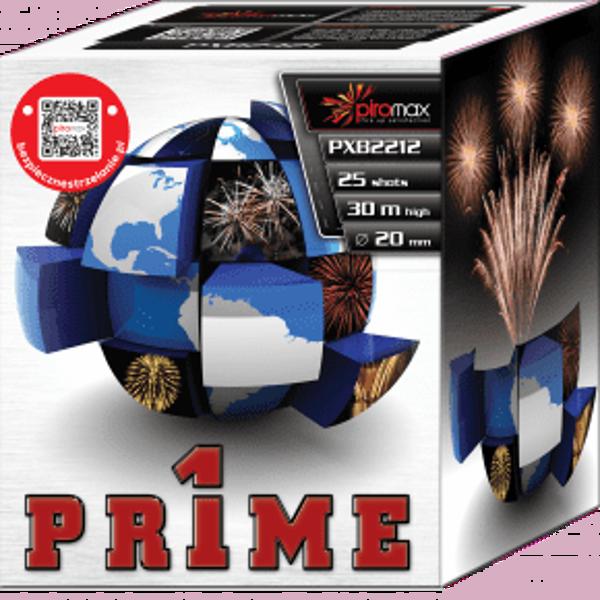 """Stobru bloks, baterija, salūts """"Prime"""", PXB2212 - 25 šāvieni 20mm"""