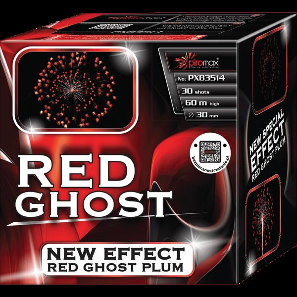 "Stobru bloks, baterija, salūts ""Red Ghost"", PXB3514 - 30 šāvieni 30mm"