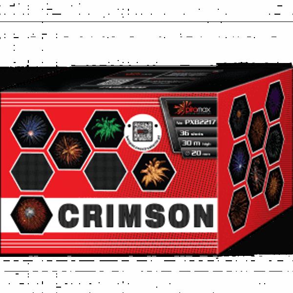 """Stobru bloks, baterija, salūts """"Crimson"""", PXB2217 - 36 šāvieni 20mm"""