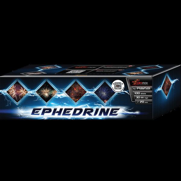 """Stobru bloks, baterija, salūts """"Ephedrine"""", PXB2501 - 100 šāvieni 20mm + vēdeklis"""