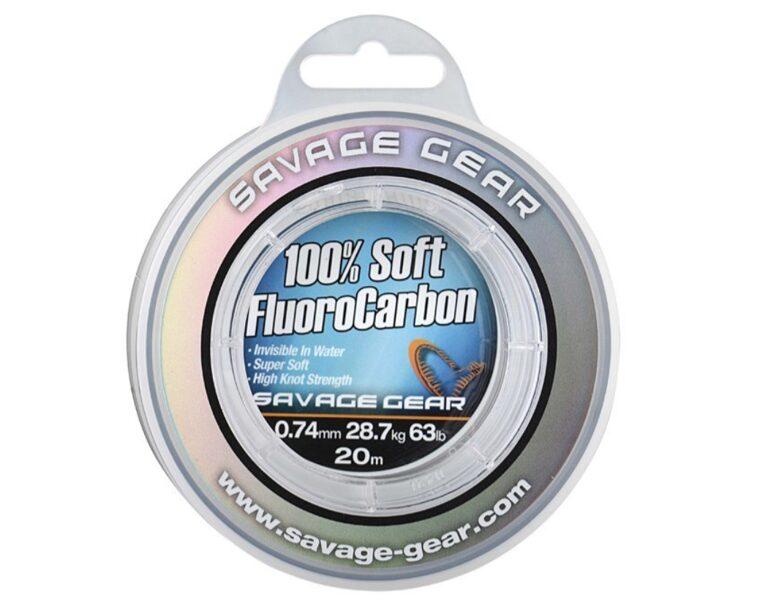 Fluorokarbona aukla Savage Gear 1mm