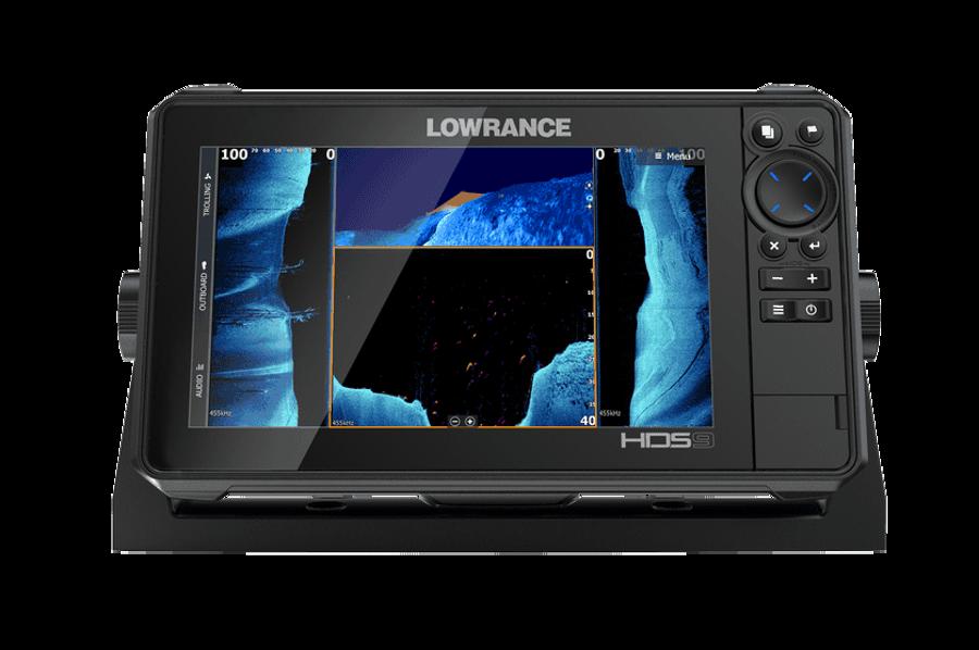 Eholote Lowrance HDS-9 LIVE Active Imaging 3-in-1 ar devēju