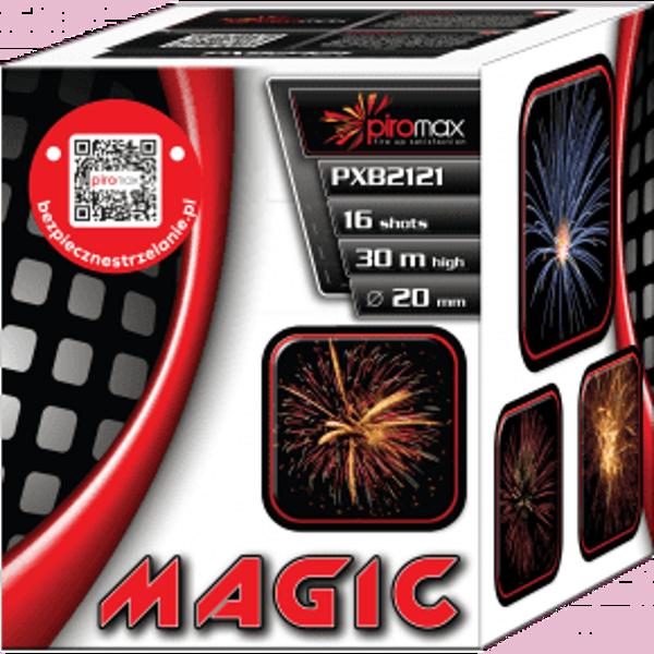 "Stobru bloks, baterija, salūts ""Magic"", PXB2122 - 16 šāvieni 20mm"