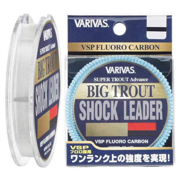 Fluorokarbona aukla Varivas Big Trout Shock Leader VSP Fluoro Carbon (30m) 16LB / 0,33mm