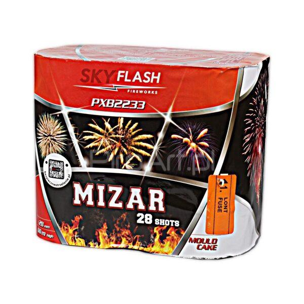 """Stobru bloks, baterija, salūts """"Mizar"""", PXB2233 - 28 šāvieni 28mm"""