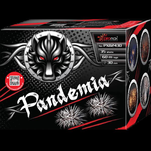 """Stobru bloks, baterija, salūts """"Pandemia"""", PXB2430 - 35 šāvieni 30mm"""