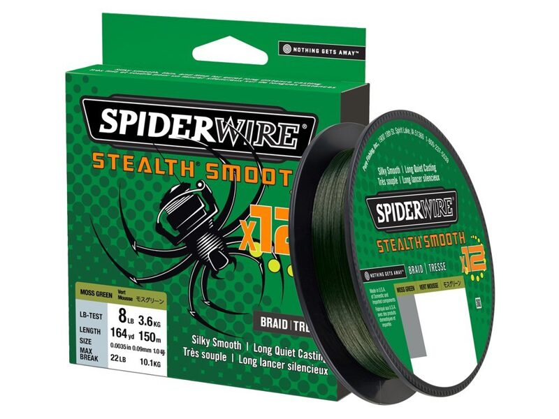 0.23mm SpiderWire Stealth Smooth 12 Braid Translucent 150m - pītā aukla, big bait