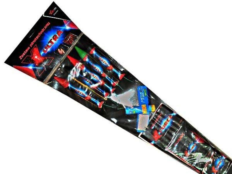 "Raķešu komplekts, salūts ""X-Ultra"" - PXZ201"