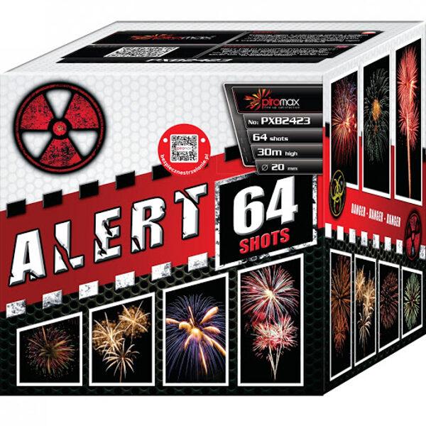 """Stobru bloks, baterija, salūts """"Alert 64"""", PXB2423 - 64 šāvieni 20mm"""