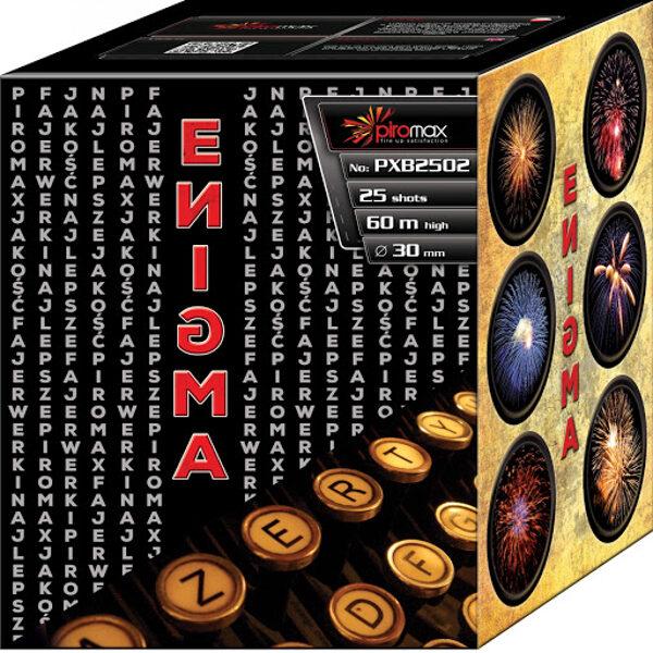 """Stobru bloks, baterija, salūts """"Enigma"""", PXB2502 - 25 šāvieni 30mm"""