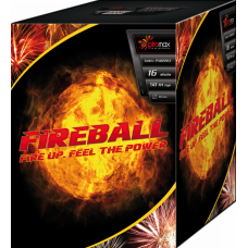 "Stobru bloks, baterija, salūts ""Fire ball"", PXB2203 - 16 šāvieni 30mm"
