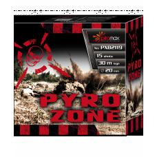 """Stobru bloks, baterija, salūts """"Pyro Zone"""", PXB2119 - 15 šāvieni 20mm"""